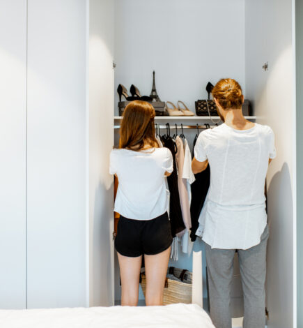 5 Ways to Get the Best Out of Shared Closets