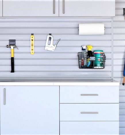 A Safe Place for Your Tools with Garage Closets