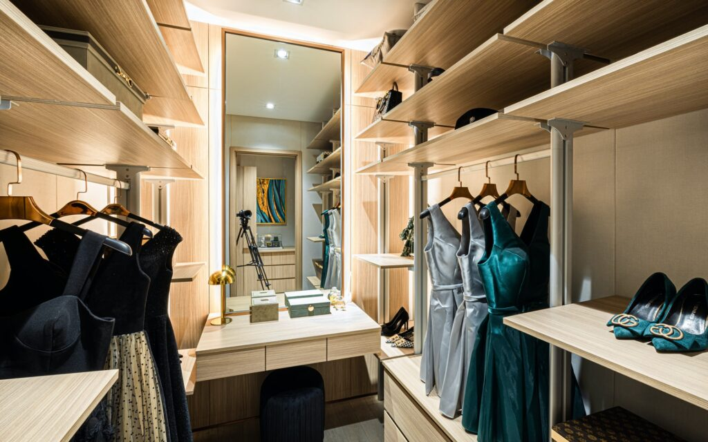 automated lighting your closet