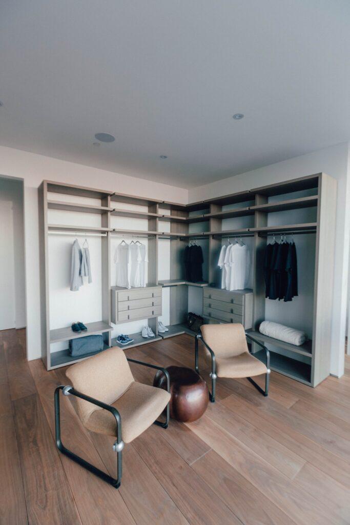 bedroom custom closet