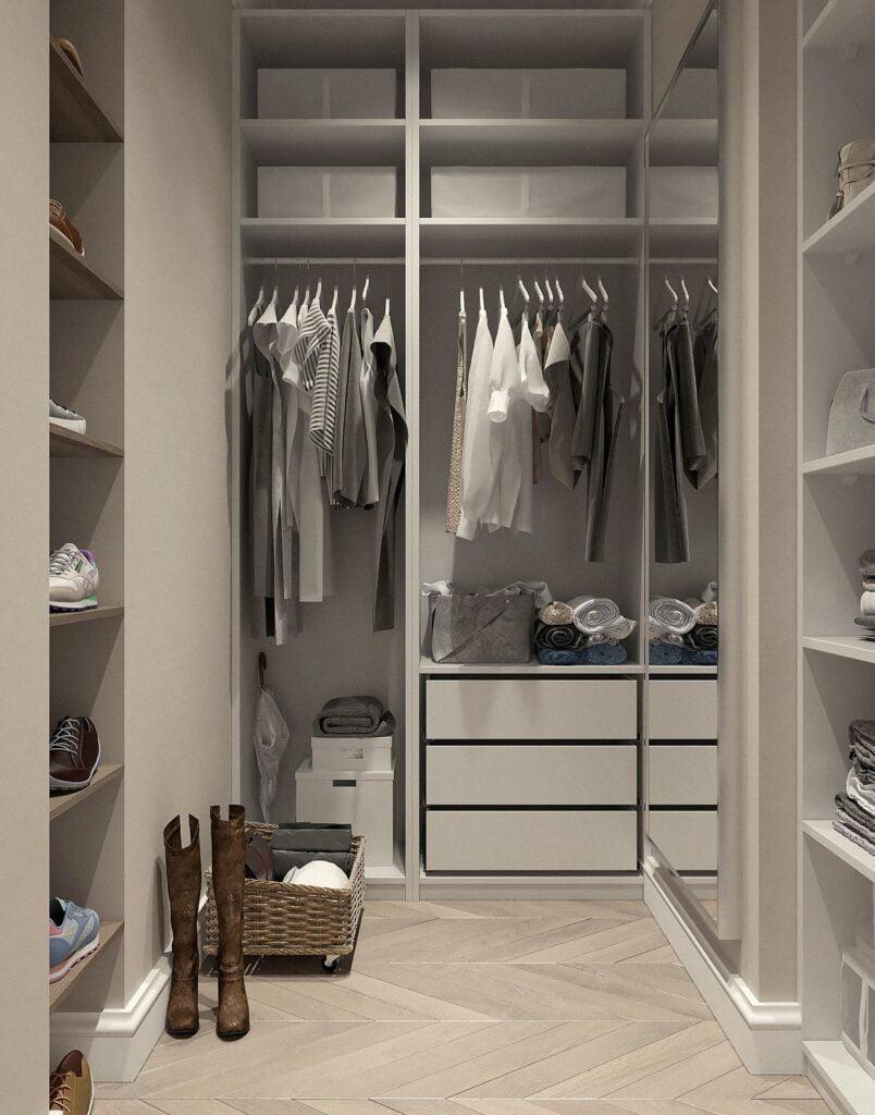 open custom closet