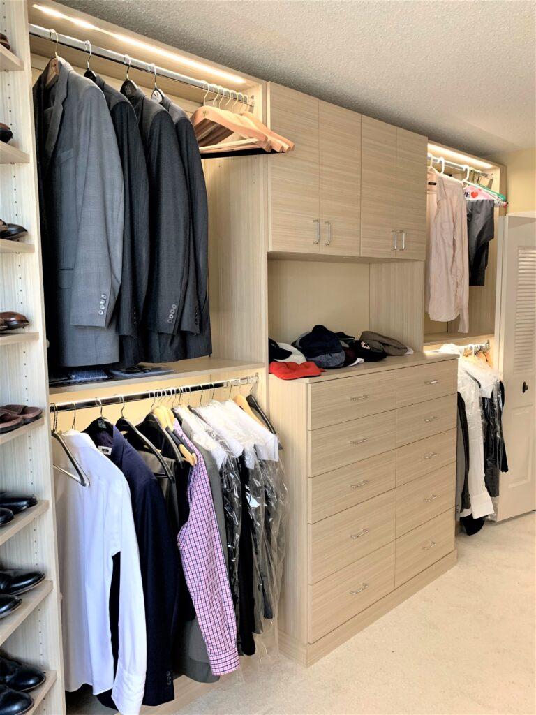 cost of custom closet in Fairfax