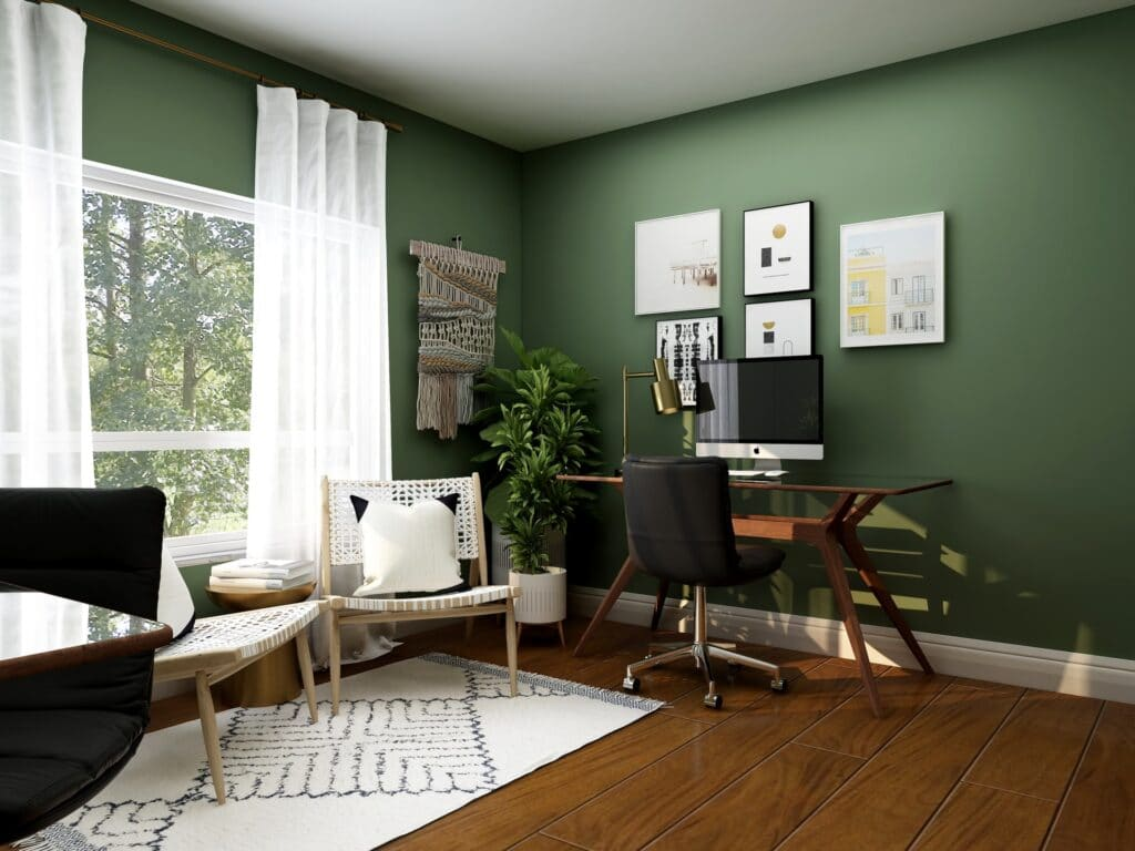 home office ideas lighting