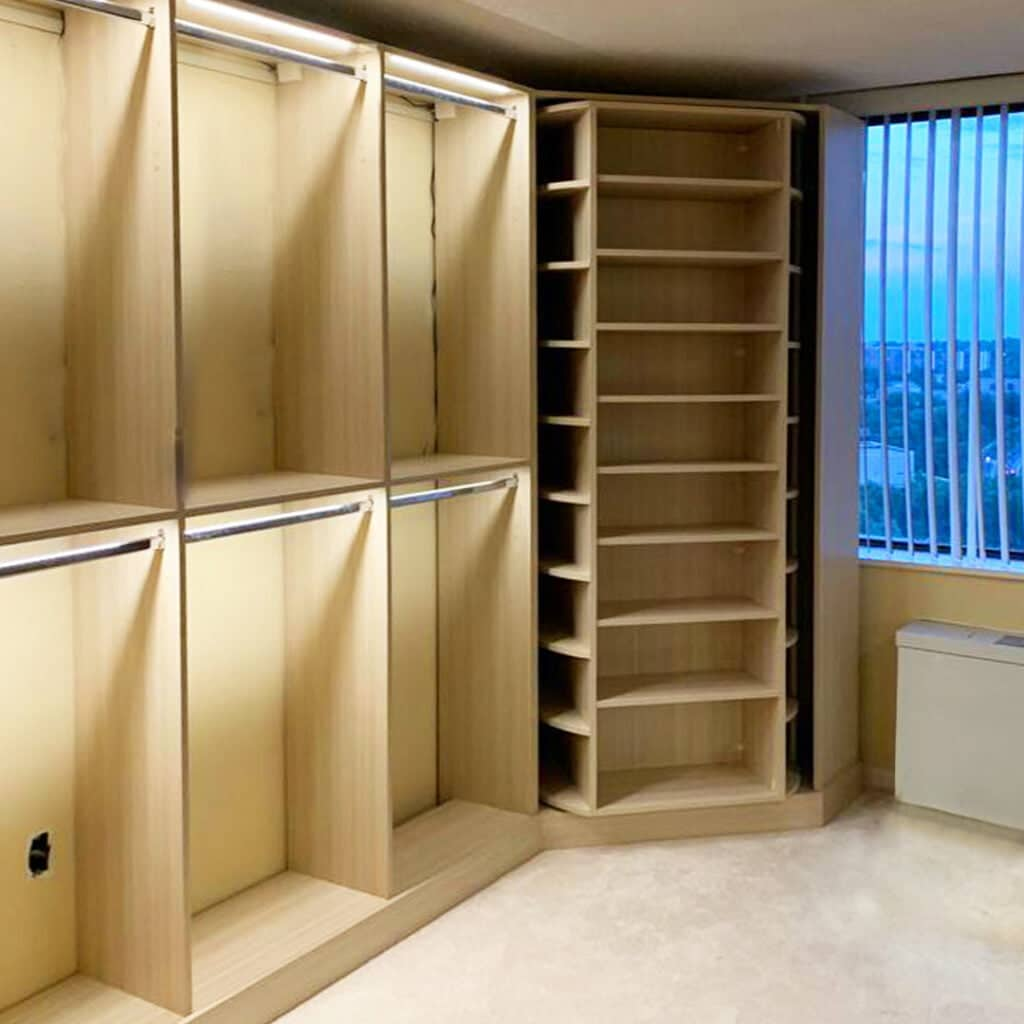 lighting ideas custom closets Chantilly